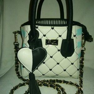 Betsey Johnson small box satchel bag